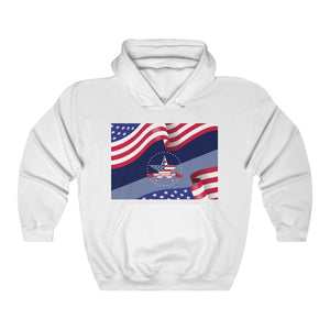 American Flag Independence Day Hoodie