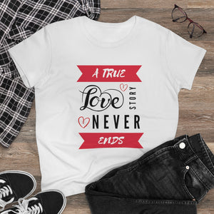 True Love - Women's Heavy Cotton Tee