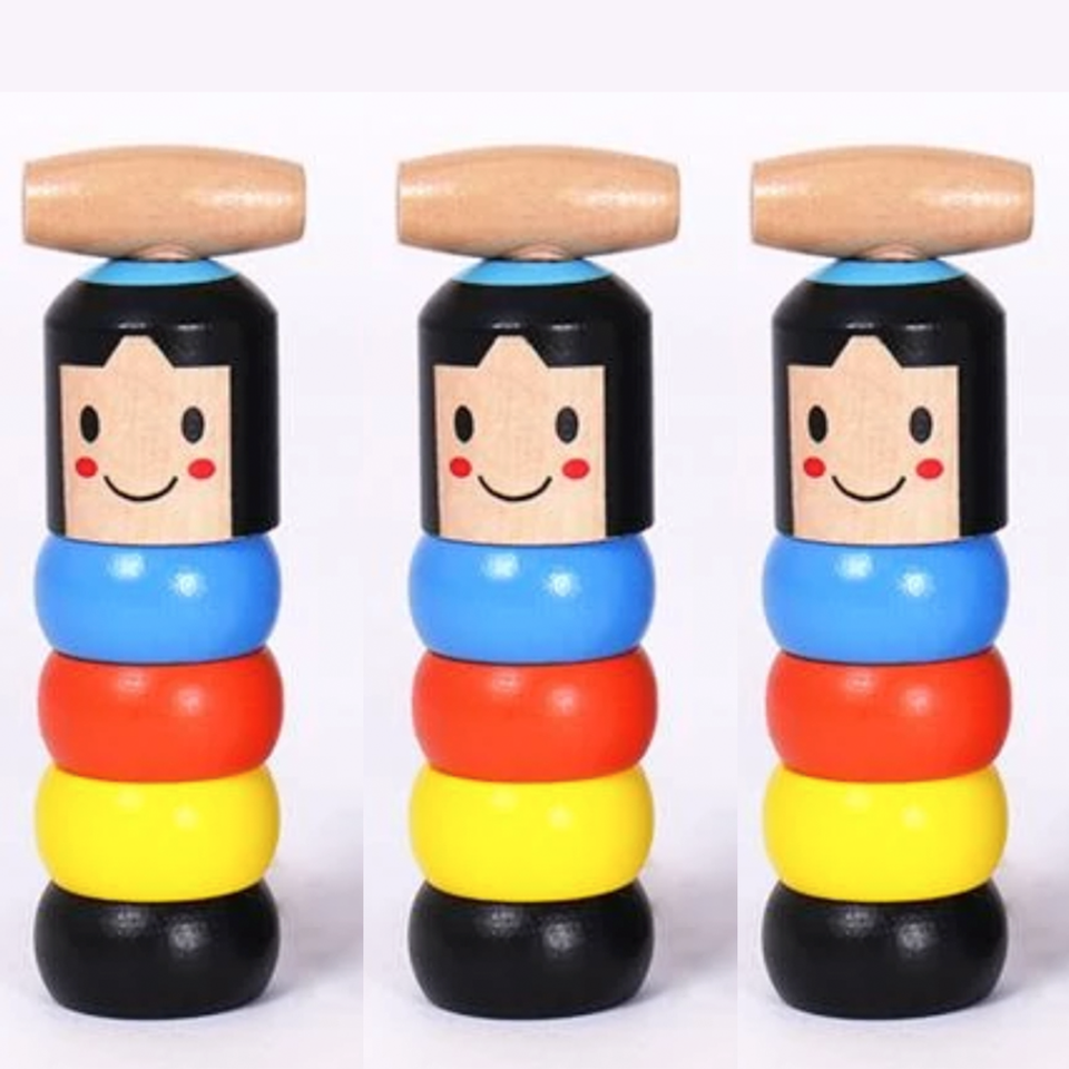 The Wooden Stubborn Toy