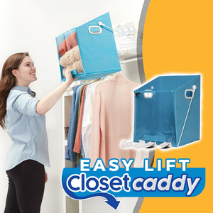 Easy Lift Closet Caddy Box