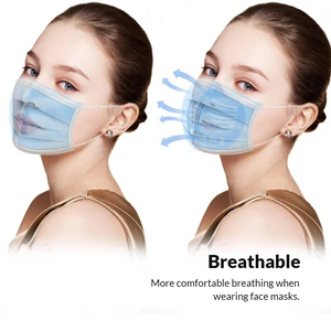 Ultra Comfortable Anti-Germ Breathing Bracket