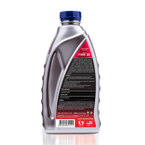 Ultra1Plus Auto SAE 10W-30 Conventional Motor Oil, API SL