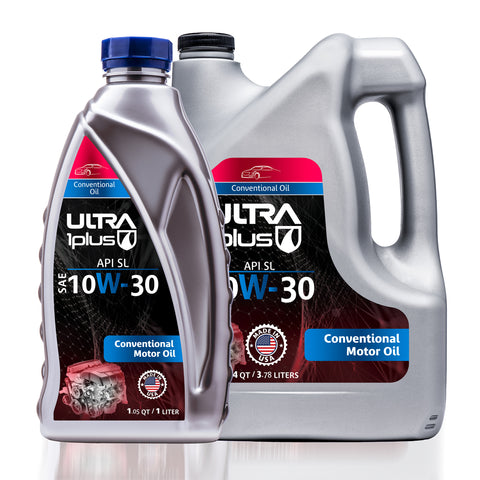 Image of Ultra1Plus Auto SAE 10W-30 Conventional Motor Oil, API SL
