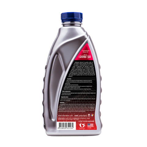 Ultra1Plus Auto SAE 20W-50 Motor Oil, API SL