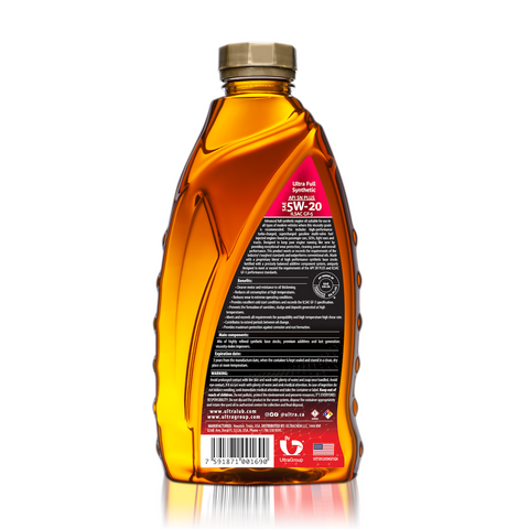 Image of Auto SAE 5W-20 Full Synthetic Motor Oil, API SN Plus, ILSAC GF-5