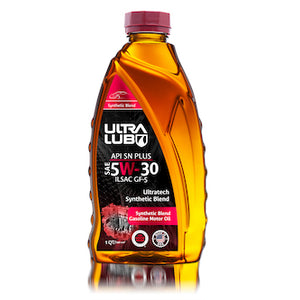 Auto SAE 5W-30 Synthetic Blend Motor Oil, API SN Plus, ILSAC GF-5