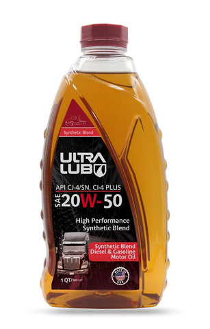 Heavy-Duty SAE 20W-50 Motor Oil, API CJ-4/SN, CI-4 Plus - Ultralub E-Commerce