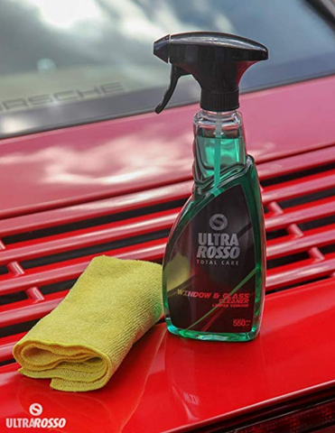 Image of Ultra Rosso - Glass & Window Cleaner - Ultralub E-Commerce