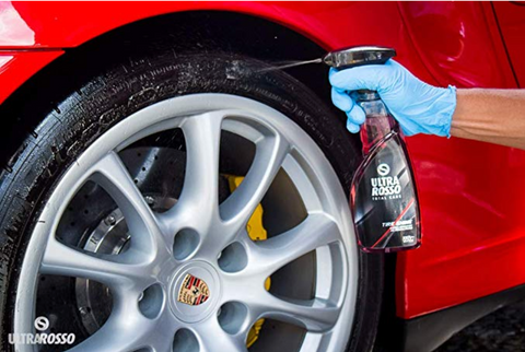 Image of Ultra Rosso - Tire Shine & Protectant Spray - Ultralub E-Commerce