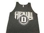 Heavy D Tank, Silver Logo (Men's)
