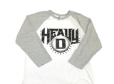 Heavy D Baseball-T, Black Logo