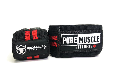 Pure X Ironbull Knee Wraps