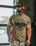 "Frank ""Wrath"" McGrath Distressed Large Full Crest Heathered Green"