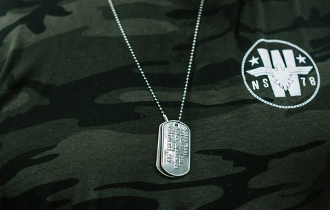 "Frank ""Wrath"" McGrathDog Tags"