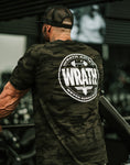 "Frank ""Wrath"" McGrath Camo Insignia Front Full Crest Back"