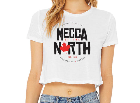 Mecca of the North Women's Crop T-Shirt
