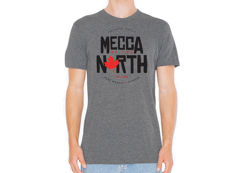 Mecca of the North Heathered T-Shirt