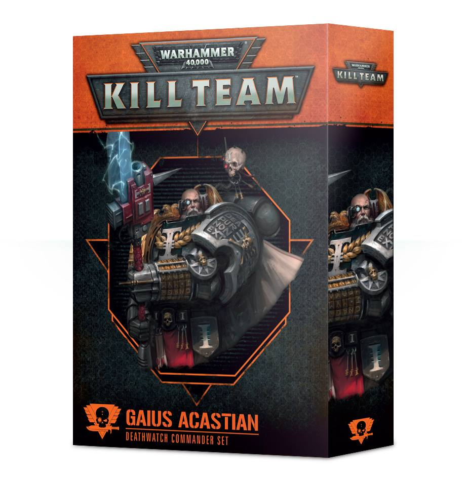 102-40 Kill Team Commander: Gaius Acastian | Misty Mountain Games