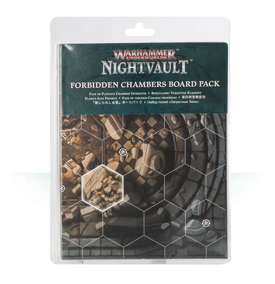 110-53 Nightvault Forbidden Chambers Board Pack | Misty Mountain Games