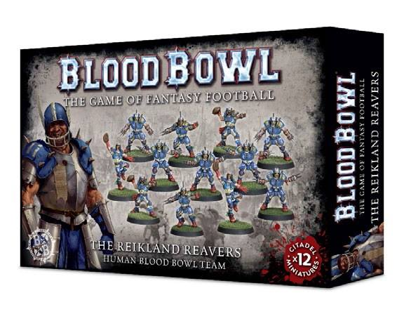 200-13 The Reikland Reavers Blood Bowl Team | Misty Mountain Games