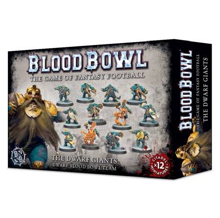 200-17 The Dwarf Giants Blood Bowl Team | Misty Mountain Games