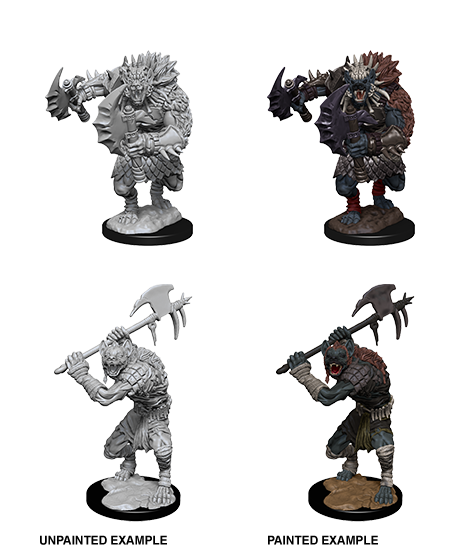 Unpainted Minis: W01: D&D: Gnolls | Misty Mountain Games