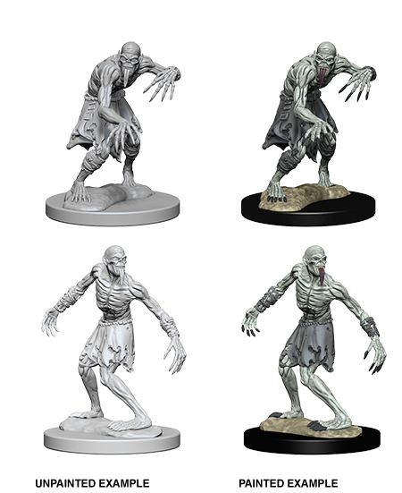 Unpainted Minis: W01: D&D: Ghouls | Misty Mountain Games