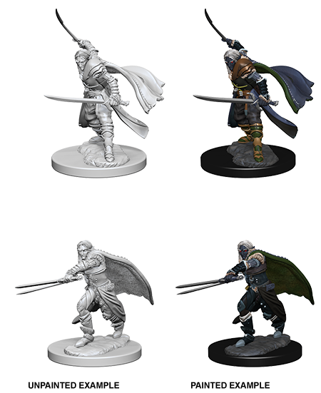 Unpainted Minis: W01: D&D: Elf Male Ranger | Misty Mountain Games