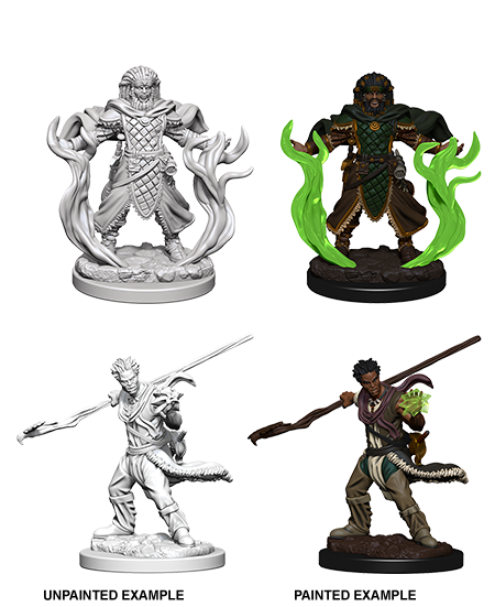 Unpainted Minis: W03: D&D: Human Male Druid | Misty Mountain Games