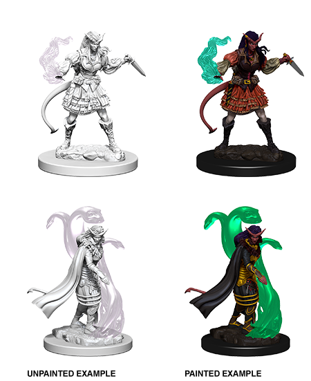 Unpainted Minis: W04: D&D: Tiefling Female Sorcerer | Misty Mountain Games