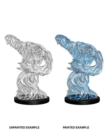 Unpainted Minis: W05: PF: Medium Water Elemental | Misty Mountain Games