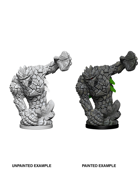 Unpainted Minis: W05: PF: Medium Earth Elemental | Misty Mountain Games