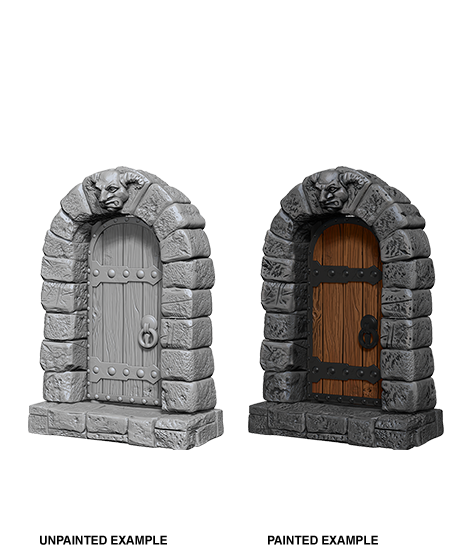 Unpainted Minis: W05: WZK: Doors | Misty Mountain Games