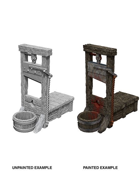 Unpainted Minis: W10: WZK: Guillotine | Misty Mountain Games