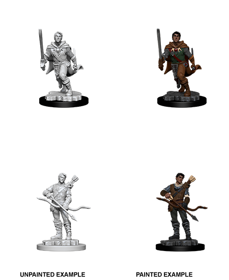 Unpainted Minis: W11: D&D: Human Male Ranger | Misty Mountain Games