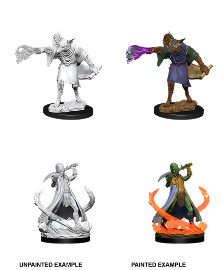Unpainted Minis: W11: D&D: Arcanaloth & Ultroloth | Misty Mountain Games