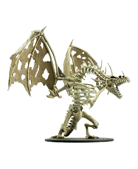 Unpainted Minis: W11: PF: Gargantuan Skeletal Dragon | Misty Mountain Games
