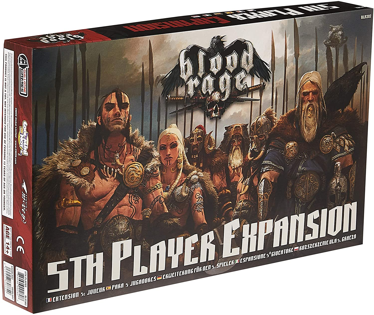 Blood Rage: 5th Player Expansion | Misty Mountain Games