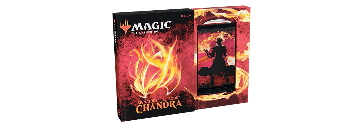 MTG: Signature Spellbook: Chandra | Misty Mountain Games