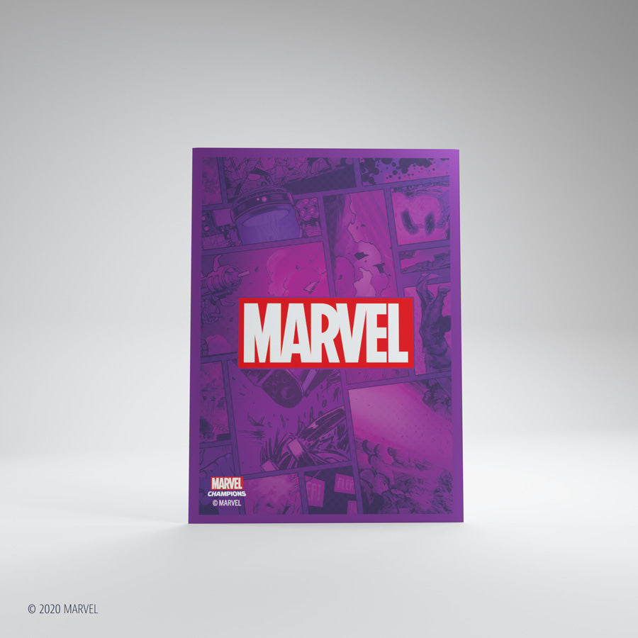 Sleeves: Marvel Art: Marvel Purple | Misty Mountain Games