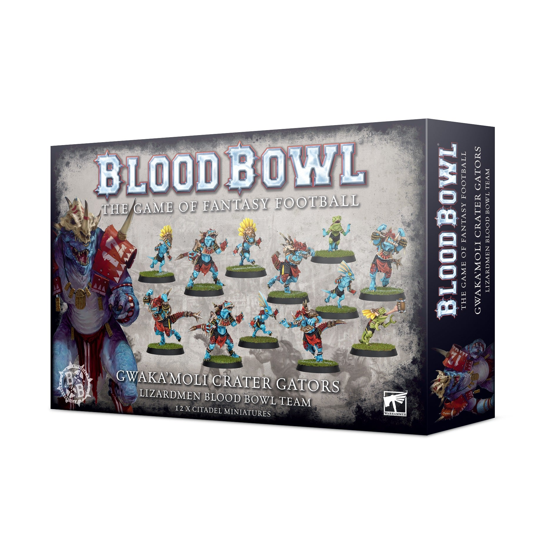 200-74 Blood Bowl: Gwaka'Moli Crater Gators | Misty Mountain Games