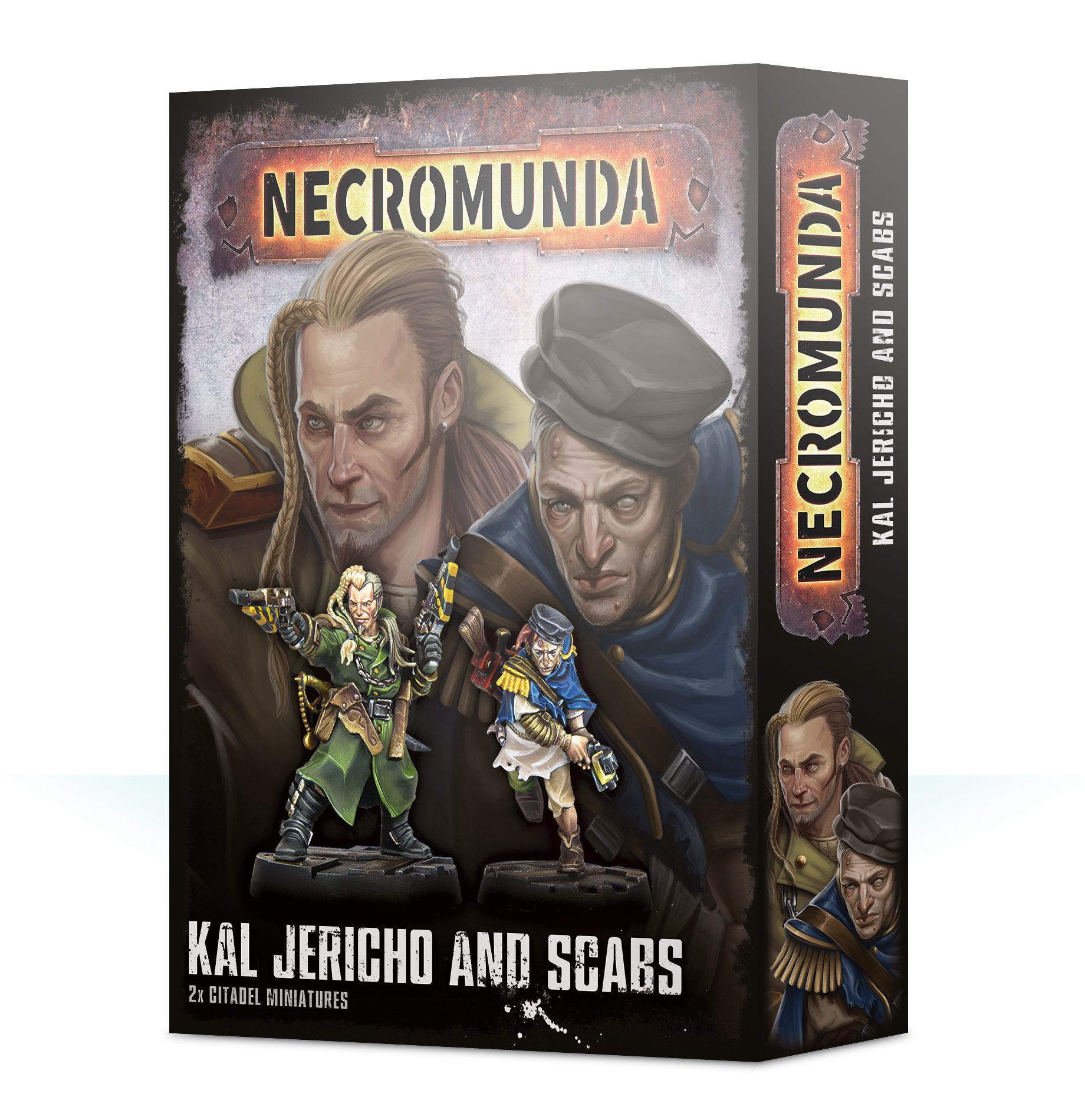 300-38 Necromunda: Kal Jericho and Scabs | Misty Mountain Games