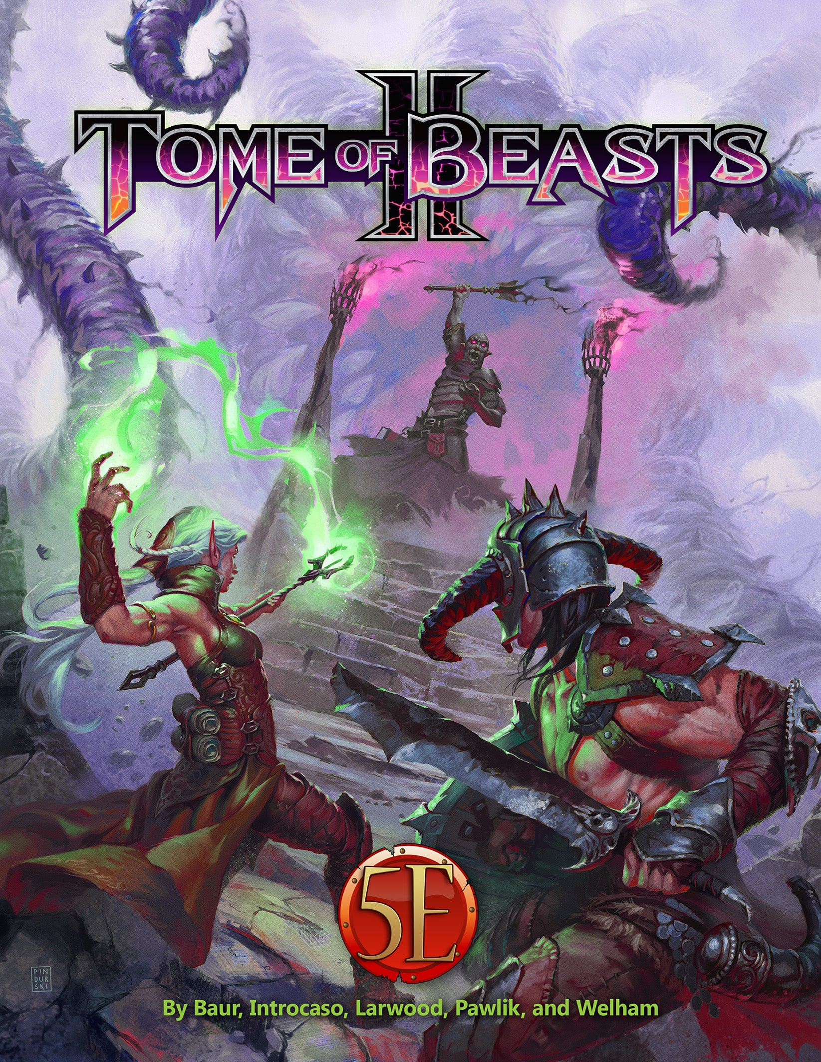 D&D: 5E: Tome of Beasts 2 | Misty Mountain Games