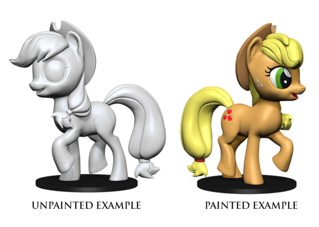 Unpainted Minis: W01: MLP: Apple Jack | Misty Mountain Games