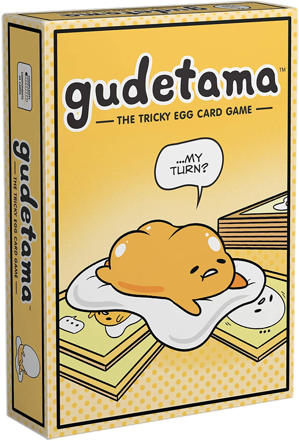 Gudetama: The Tricky Egg Card Game | Misty Mountain Games