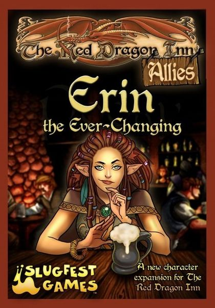 Red Dragon Inn: Allies: Erin the Ever-Changing | Misty Mountain Games