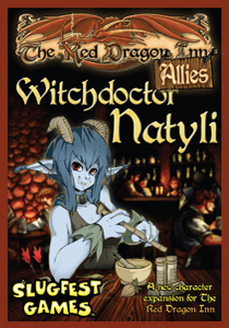 Red Dragon Inn: Allies: Witchdoctor Natyli | Misty Mountain Games