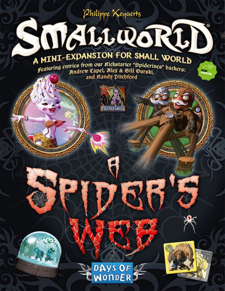Small World: A Spider`s Web Expansion | Misty Mountain Games