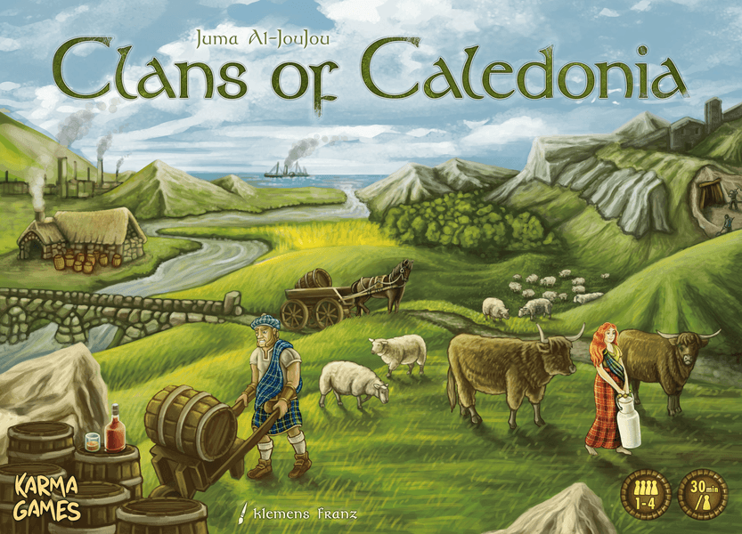 Clans of Caledonia | Misty Mountain Games