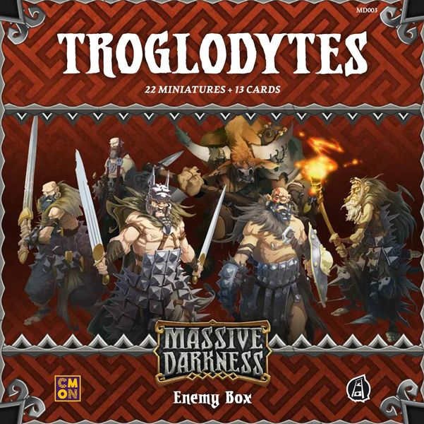 Massive Darkness: Enemy Box: Troglodytes | Misty Mountain Games